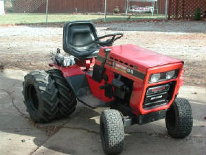 Our 1979 Sears Craftsman Garden Tractor